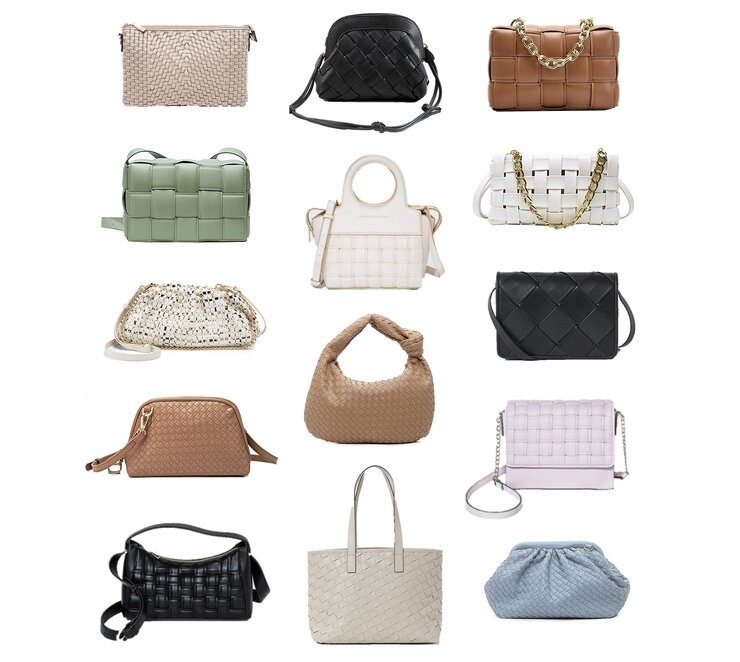 woven braided bags