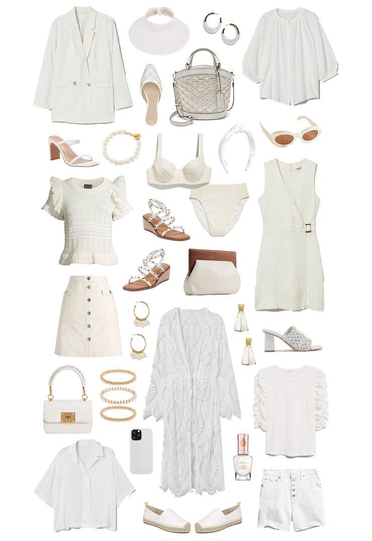 spring to summer whites