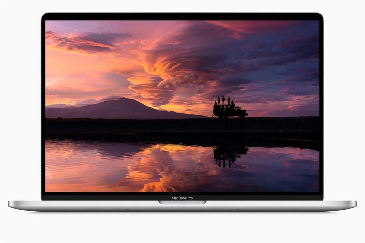 16-inch MacBook Pro 2.4GHz 8-core Core i9 (2019)