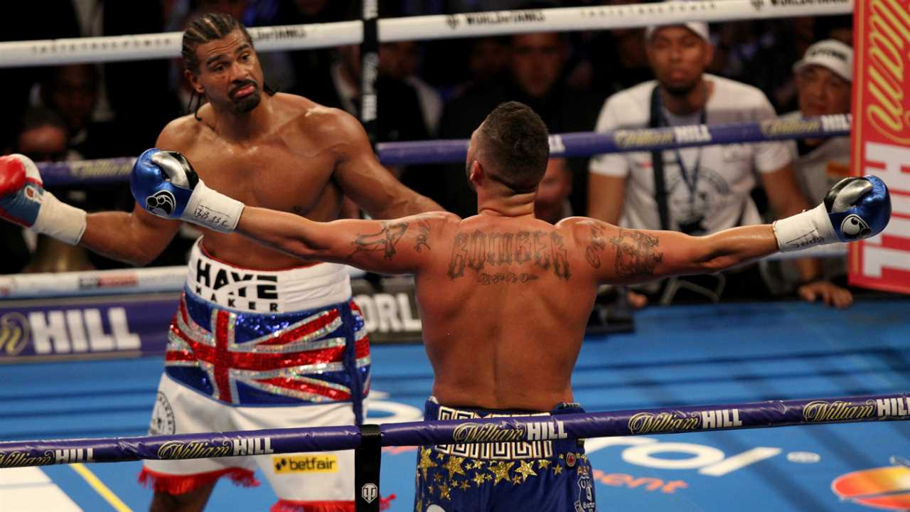 Bellew squares off with Haye